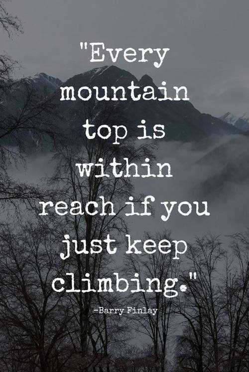 Best Mountain Quotes to Inspire the life