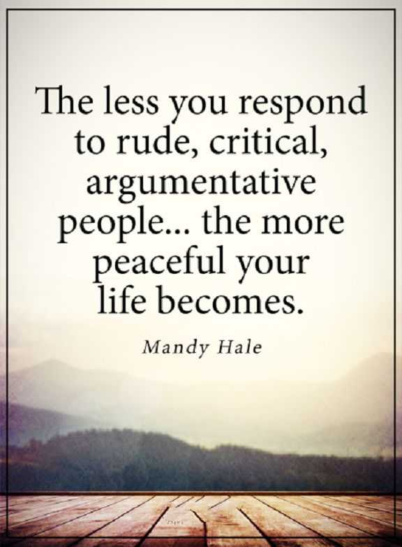 Inspirational Quotes for Difficult Times 'Peaceful Your Life becomes, Less You Respond