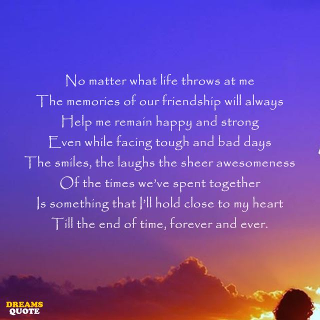 23 Best Friendship Poems And Sayings 2