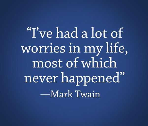 Positive Quotes About Life mark twain