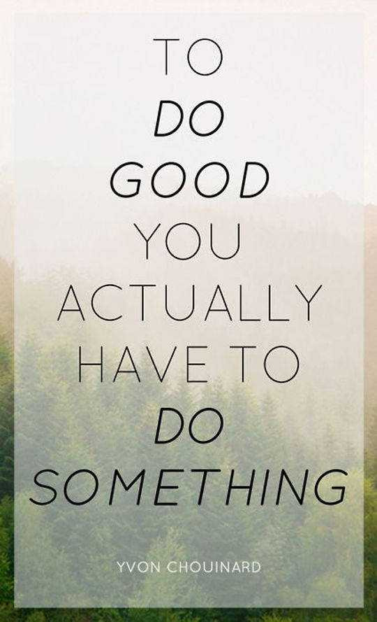 Positive words To do good young