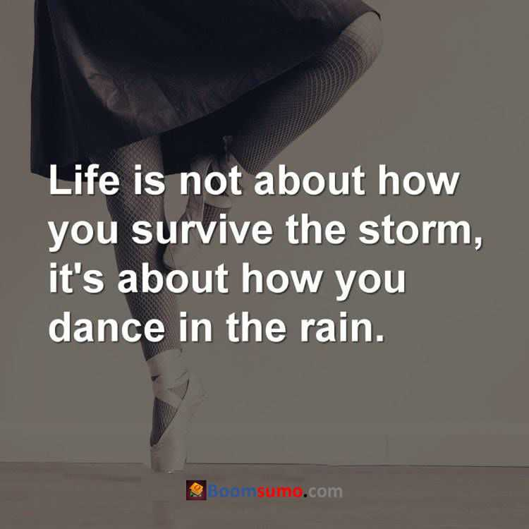 short quotes on life lessons dance