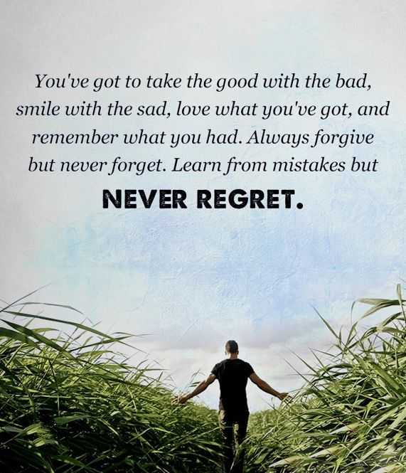 Inspirational Words Life Thoughts Always Forgive But Never Forgot, Learn From Mistakes
