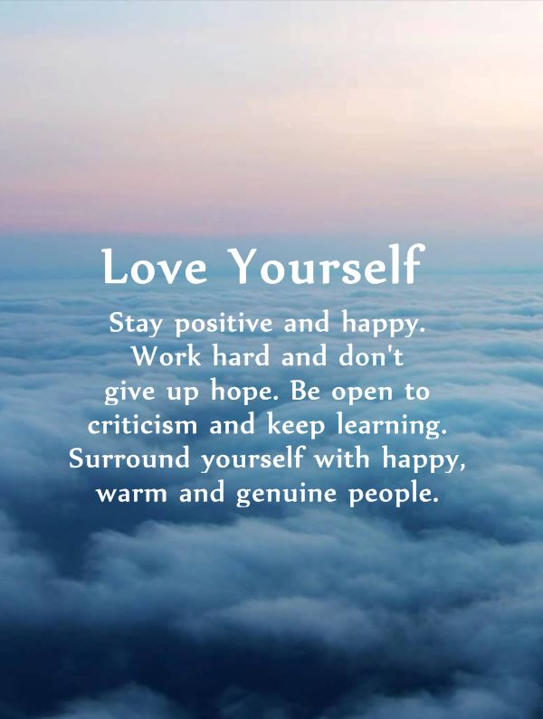 10 Positive Quotes Love Yourself 2