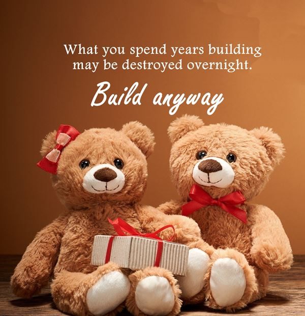 Build anyway quotes about happiness