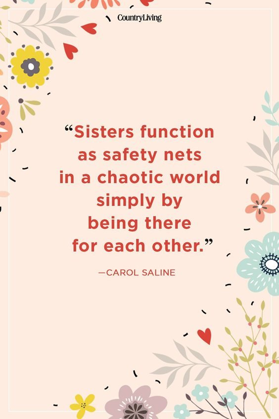 100 Sister Quotes And Funny Sayings With Images 1