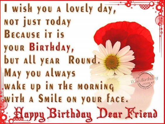 50 Happy Birthday Wishes Friendship Quotes With Images 20