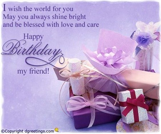 50 Happy Birthday Wishes Friendship Quotes With Images 23