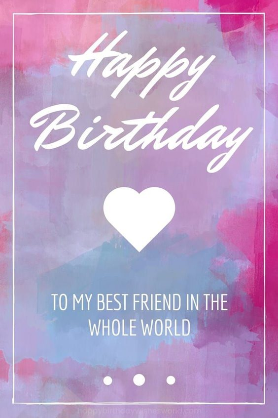 50 Happy Birthday Wishes Friendship Quotes With Images 4