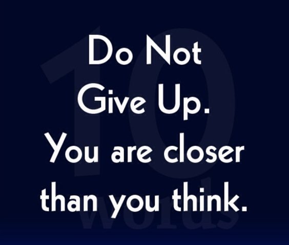 86 Don\'t Give Up Quotes And Inspirational Quotes About Life ...
