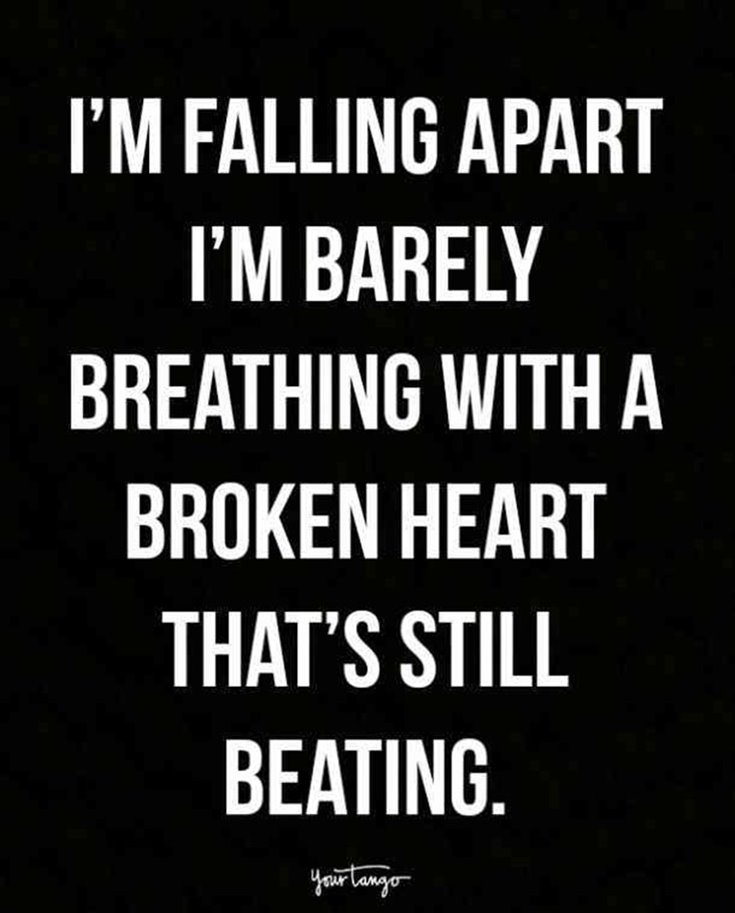 Deep Quotes 284 Broken Heart Quotes About Breakup And Heartbroken Sayings 90