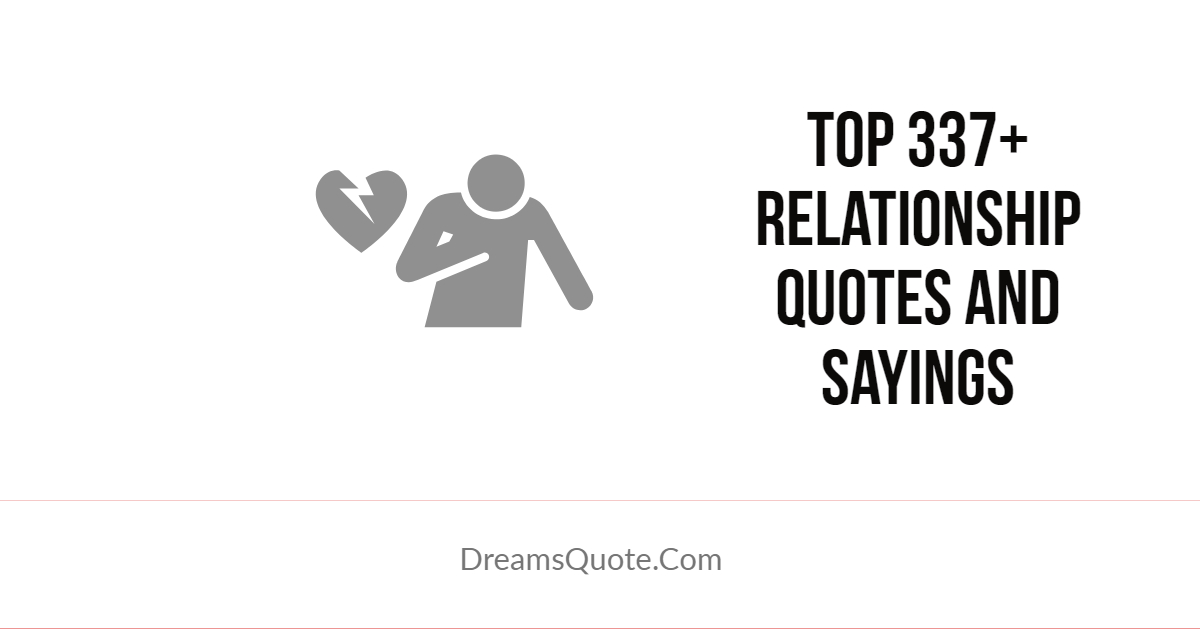 Relationship Quotes And Sayings Life