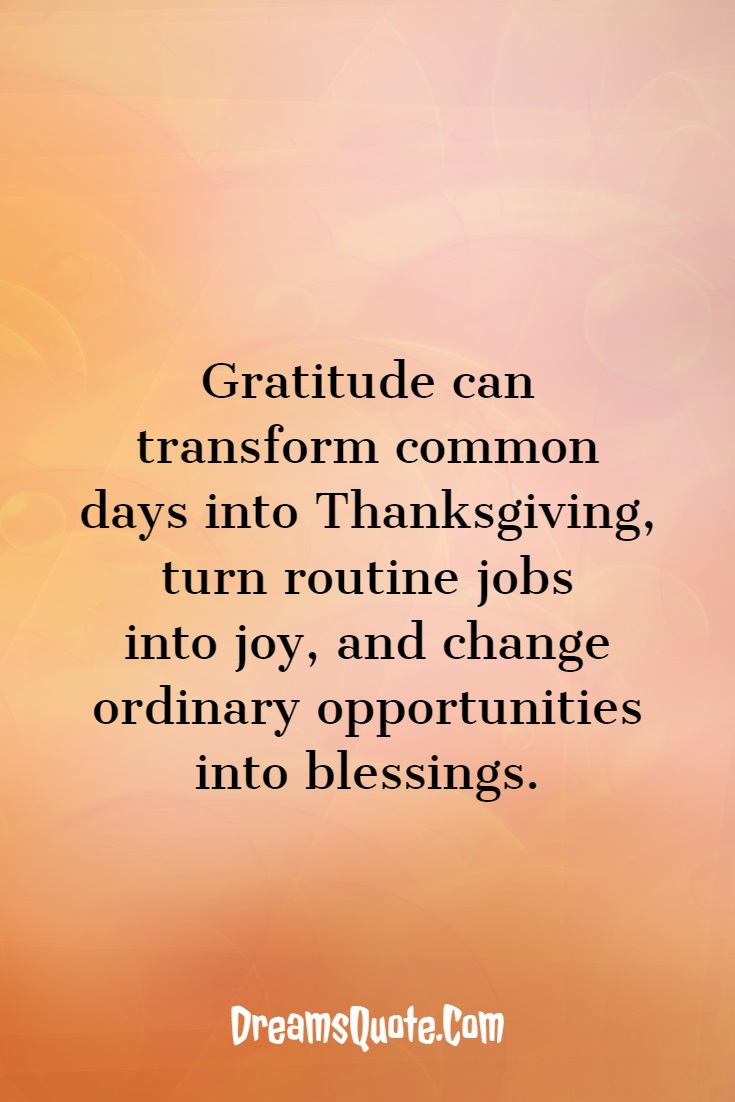 28 Inspirational Thanksgiving Quotes And Sayings 3