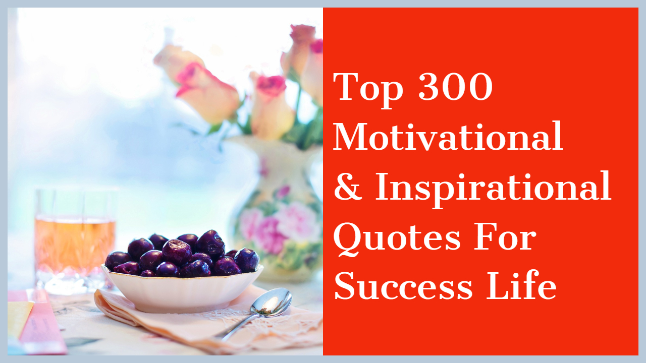 Motivational Inspirational Quotes For Success Life