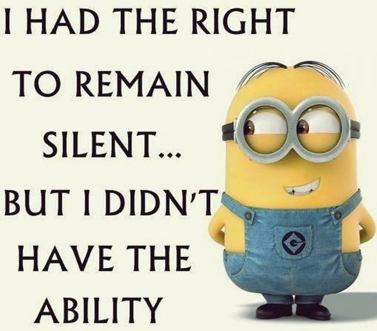 Best 45 Very Funny Minions Quotes of the Week 1