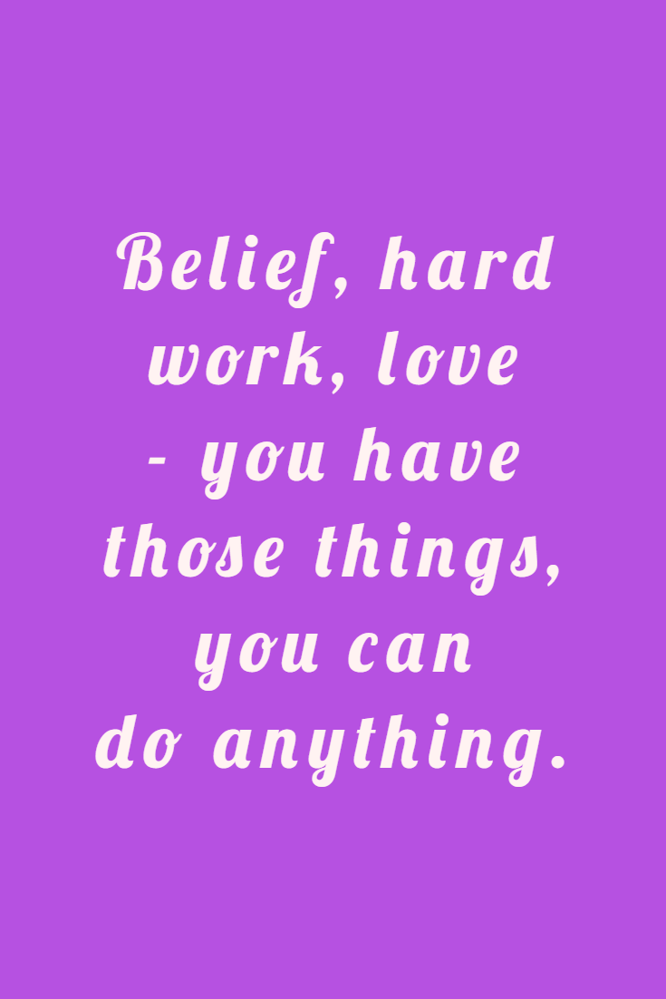 50 Famous Quotes About Success And Hard Work 33 #believe quotes