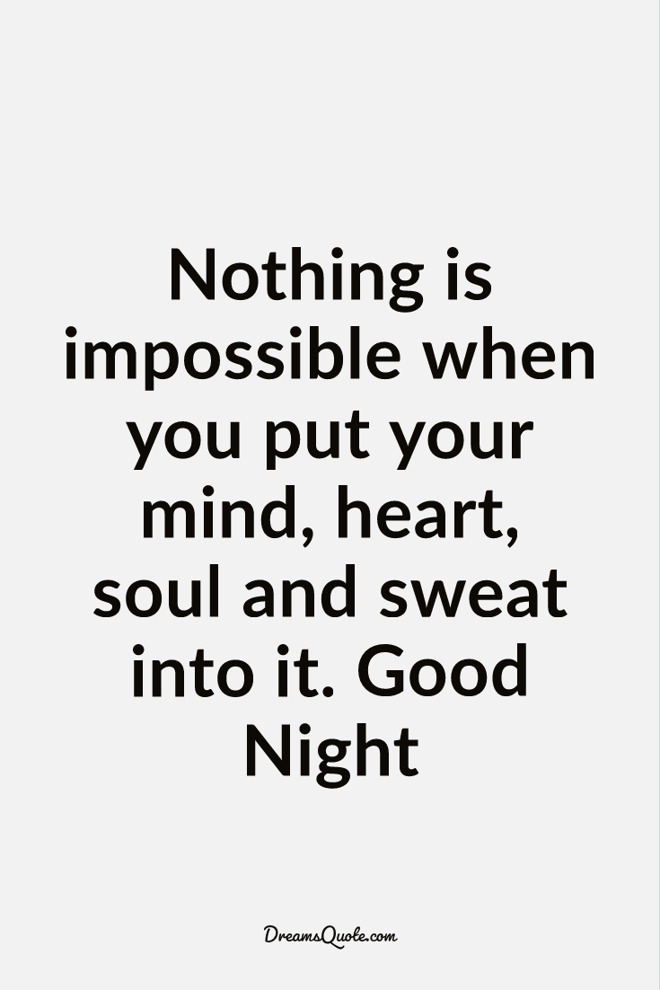 good night quotes and sayings
