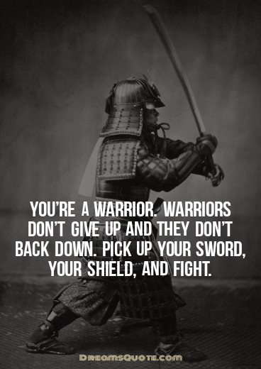 warrior quotes on death