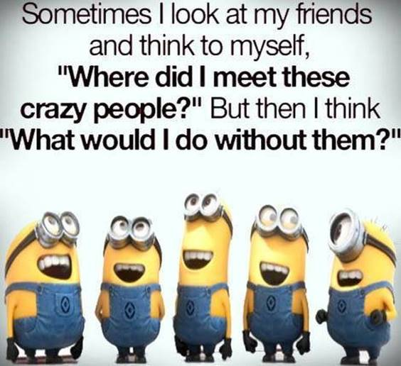 40 Crazy Funny Friendship Quotes for Best Friends 3