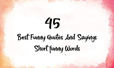 Best Funny Quotes And Sayings Short funny Words