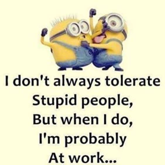 38 Great Funny Minion Quotes Funny images Funny Memes 5
