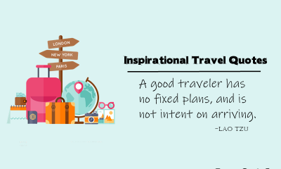 Inspirational Travel Quotes With Images To Wanderlust