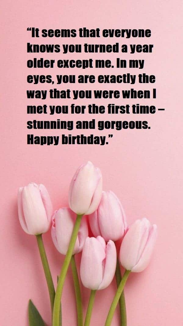 romantic birthday card happy birthday messages for her