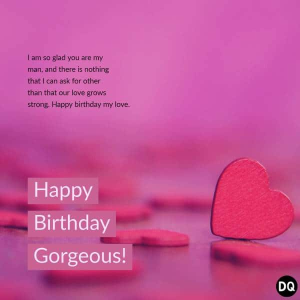 Super Romantic Birthday Wishes For Him | Happy birthday wishes for him, Birthday wishes for lover, Birthday wish for husband