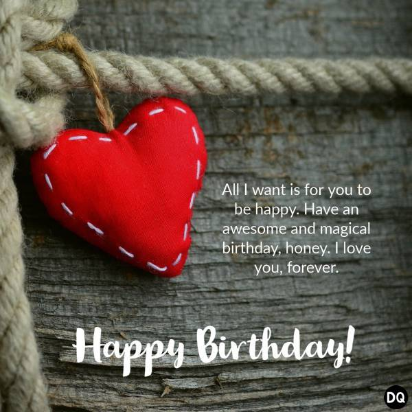 Romantic Birthday Wishes And Messages – Wordings and Messages | romantic greetings, romantic quotes