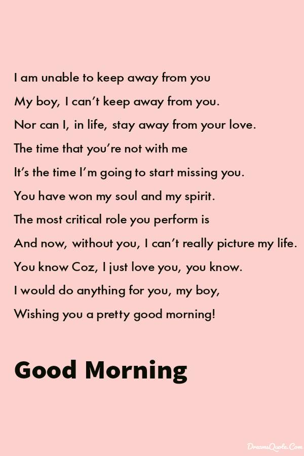 Good Morning Love: Quotes, Romantic Texts, Poems for Him and Her