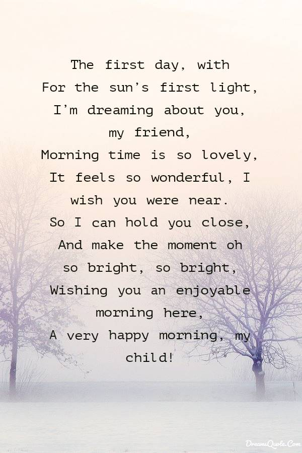 Beautiful Good Morning Love Poems for Her and Him