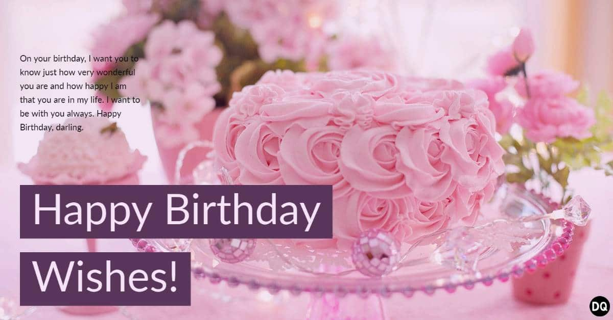 Romantic Birthday Wishes Messages Images and Quotes
