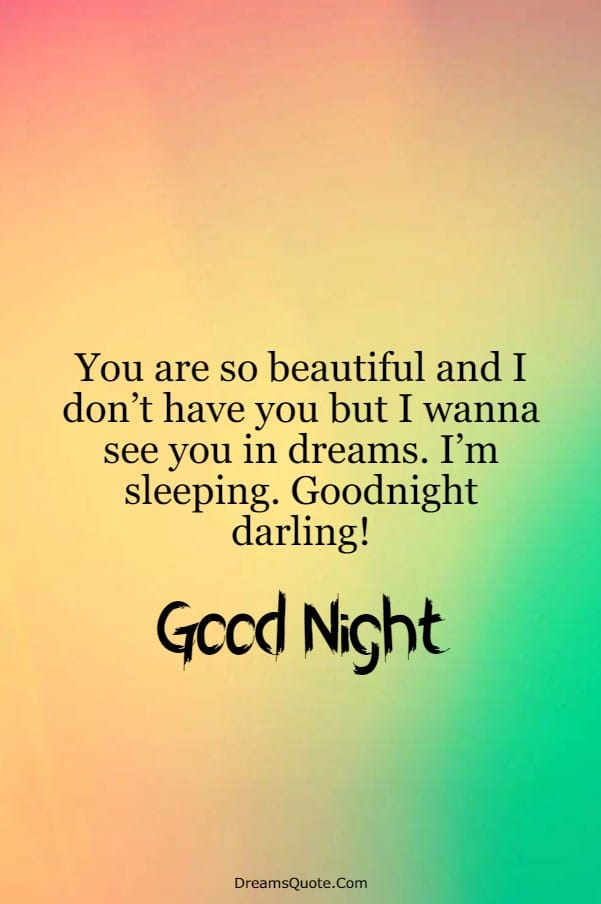 110 Romantic Good Night Messages For Her | good night quotes cute, good night text for her, romantic good night quotes for her