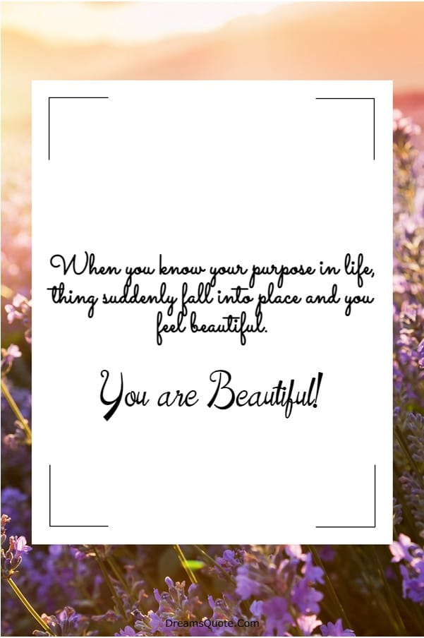 110 You are Beautiful Quotes on Life | beautiful face quotes, pretty quotes, beautiful life quotes