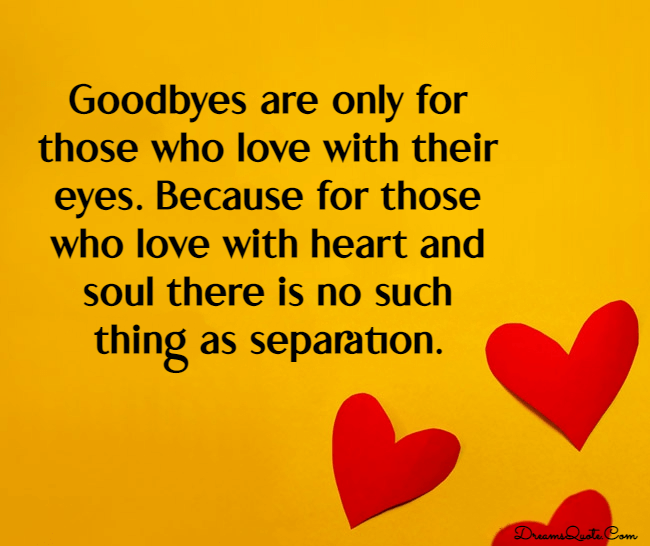 farewell and goodbye quotes for someone you love