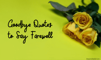 Goodbye Quotes of All Time to Say Farewell