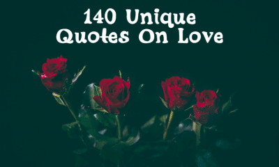Unique Quotes On Love