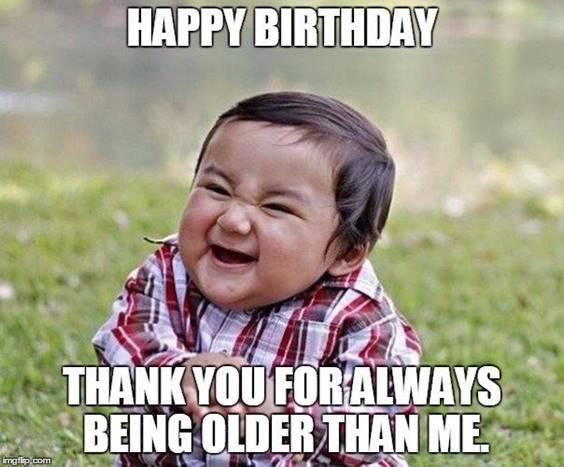 Weird Birthday Meme