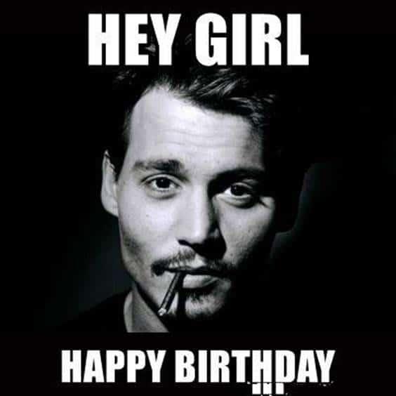 Happy Birthday Funny Man