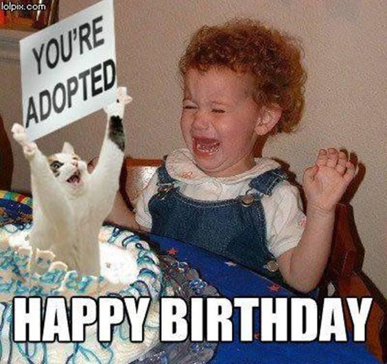 Funny Friend Birthday Memes