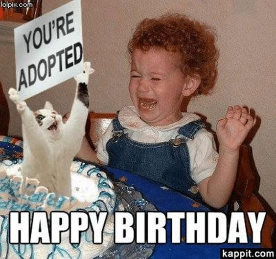 Happy Birthday Old Meme
