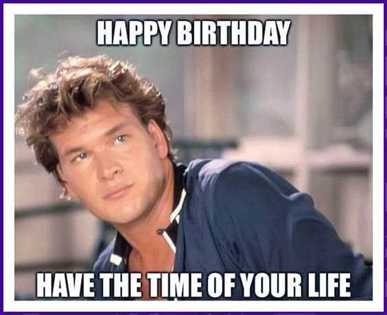 Happy Birthday Friend Funny Meme