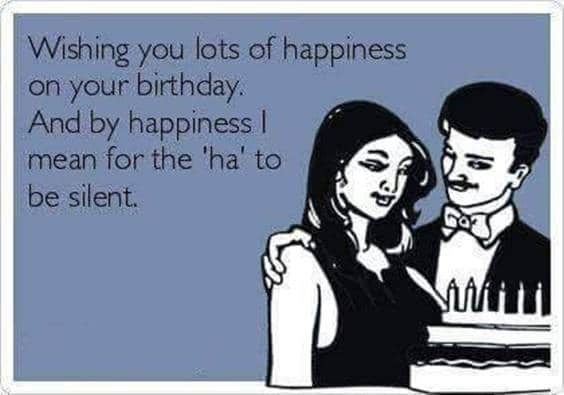 Happy Birthday Dirty
