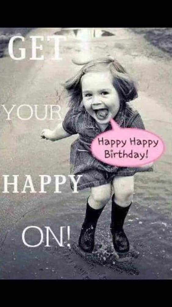 Weird Happy Birthday