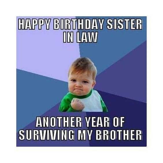 Birthday Meme Woman