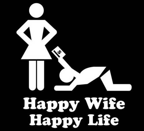 45 Wife Memes That Perfectly Sum Up Married Your looking for a wife meme - A contented woman may improve her own and her family's lives. How did my wife do it?
