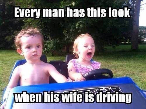45 Wife Memes That Perfectly Sum Up Married Your good husband meme - Every guy develops this pained expression whenever his wife is driving and you discover her hidden stash.