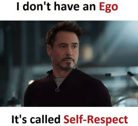 If you respect me, you will respect your superiors. Relationship Meme Quotes