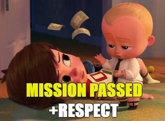 The mission was successfully completed. Respect In A Relationship Meme
