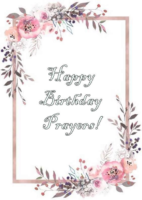 birthday prayer for my daughter at 1